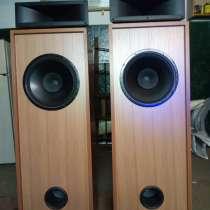 Напольные мощные аудиоколонки, в Дубне