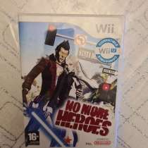 Редкая Игра на Nintendo Wii No more heroes, в Краснодаре