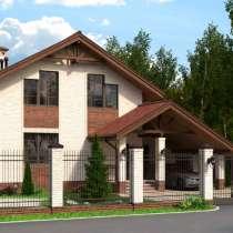 Проект каменного дома под названием Анжел, в Ярославле