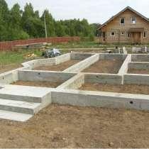 Строительство фундамента под дом, баню, в Екатеринбурге