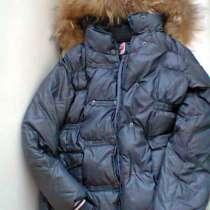 Куртка пуховик для девочки зима 134-140 размер, в Москве