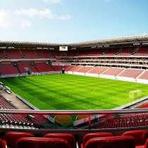 Футбольное поля, стадион с натуральным и искусственным газон, в Екатеринбурге