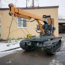 Гусеничная буровая установка Корвет-04, в Ханты-Мансийске