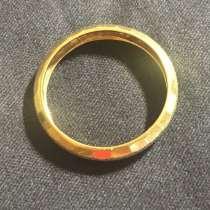 Кольцо золотое рр 17,5, в Москве