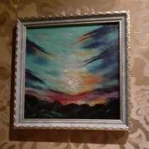 Картина из шерсти, в Куровском