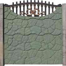 Забор декоративный железобетонный, в г.Павлодар