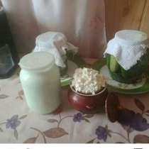 Творог из козьего молока, в Костерёво