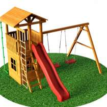 Детская деревянная площадка Ryan Wood, в Москве
