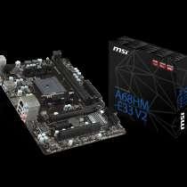 Отличная игровая сборка проц. AMD A10 7800+мат.плата MSI A68, в г.Луганск
