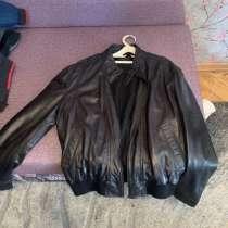 Мужская коженная куртка, в Москве