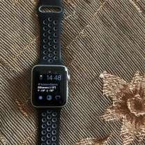 Apple Watch Series 3 42mm Silver Aluminum White Sport Band, в Новосибирске