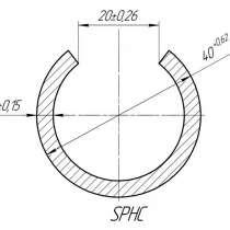 Линия для производства трубчато-фрикционных анкеров, в г.Чэнду
