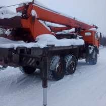 Продам автокран 25тн-22м, Камаз-43118,6х6, в 2012 году, в Нижнем Новгороде