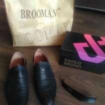 Продам итальянские мужские туфли, в Красноярске
