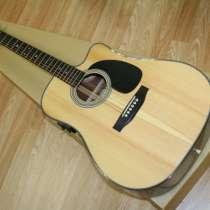 Гитара электроакустическая Sigma DMC-1STE с чехлом и усилите, в Сальске