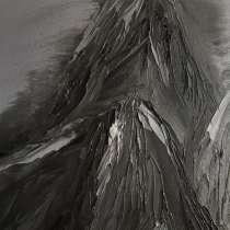 Картина маслом, горы 30*35, в Саратове