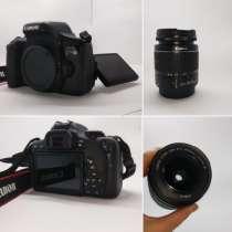 Зеркальный фотоаппарат Canon EOS 750D + объектив EF-S 18-55, в г.Ташкент