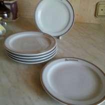 Винтажный набор тарелок, в Петрозаводске