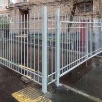 Забор секционный металлический арочный, в Краснодаре