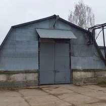 Аренда холодного ангара в Рыбацком. 371 кв. м, в Санкт-Петербурге