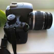 Фотоаппарат Canon 1000d + объектив EF 50 f/1.8, в Реутове