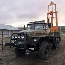 Буровая установка ЛБУ-50 на базе Урала 4320 маленькая нараб, в г.Одесса