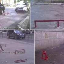 Колесоотбойники и разделители парковочных мест, в Москве