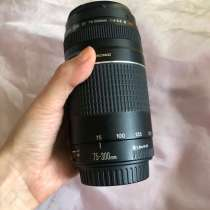 Объектив Canon Zoom Lens Ef 75-300 mm, 1,5m/4,9 ft, в Москве