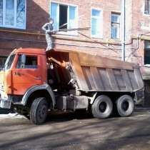 Вывоз мусора Камаз самосвал, в Нижнем Новгороде