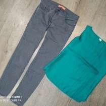 Стильные джинсы плюс шелковая маечка, в г.Николаев