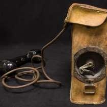 Американский полевой телефон с индукторным вызовом без источ, в Уфе
