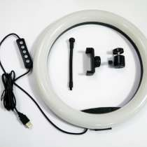 Кольцевая LED лампа RGB MJ33 33см 1 крепл. тел USB, в г.Киев
