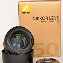 Объектив Nikon 50mm f/1.4G AF-S Nikkor, в г.Николаев