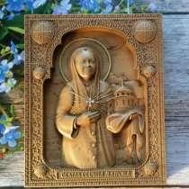 Резные иконы из дерева ручной работы, в Москве