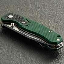 Складной нож Enlan green G10, в Санкт-Петербурге