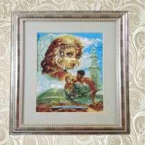 Картины-ручная вышивка крестом, в Ангарске