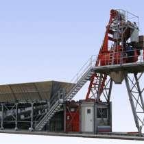 Мобильный бетонный завод Constmash Компакт 60 (60 м3/час), в Москве