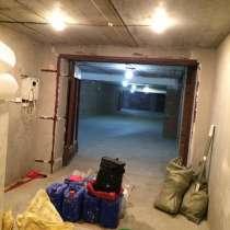 Штукатурка стен, ремонт гаража, в Новосибирске