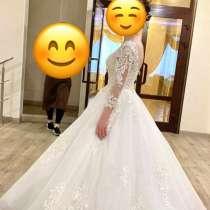 Свадебное платье в идеальном состоянии, в Альметьевске