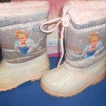 Утепленные сапожки для девочки, в Санкт-Петербурге