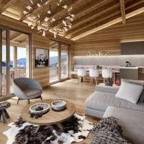 Проект современного дома с террасой с удивительного панорамн, в г.Sesto - Sexten