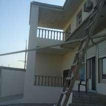 Вилла 5 комнатная, со вторым участком с недостроенным домом, в г.Баку