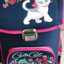Школьный ранец рюкзак с тележкой для девочки, в Москве