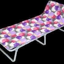 Раскладушка (раскладная кровать Юниор мягкая) новая, в Краснодаре