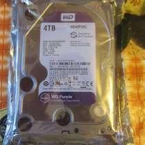 Жёсткий диск WD 4 TB Purple. Новый. Запечатанный! Гарантия, в Владивостоке