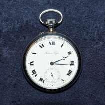 Старинные карманные часы Павелъ Буре. Россия, 1918, в Санкт-Петербурге