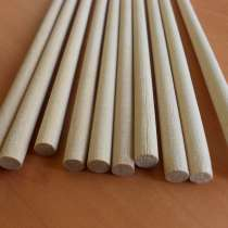 Круглые палочки деревянные стержни для ремесел 8мм 20-50см, в г.Витебск