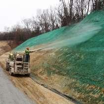Создание газона методом гидропосева, в Ростове-на-Дону