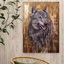 Картина Волк, в Москве