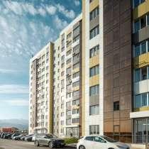 Продается 1 комнатная квартира 43 м. кв. Кухня 15 м. кв, в г.Алматы